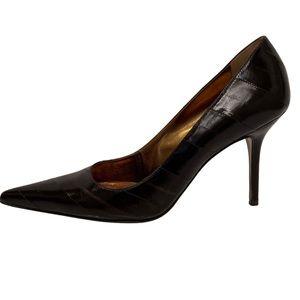 Dolce & Gabbana classic black leather heels